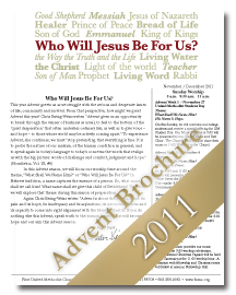 Advent Brochure 2011 Cover