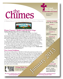 Chimes January 2013 Cover