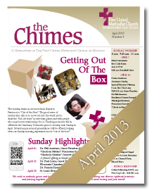 Chimes April 2013 Cover
