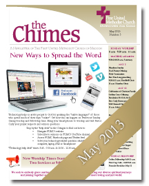 Chimes May 2013 Cover