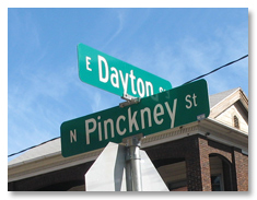 Dayton Pinkney Street Signs