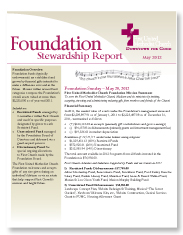 Foundation Stewarship Report Cover