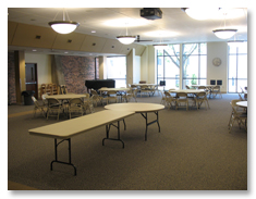 Visual Tour, Fellowship Hall
